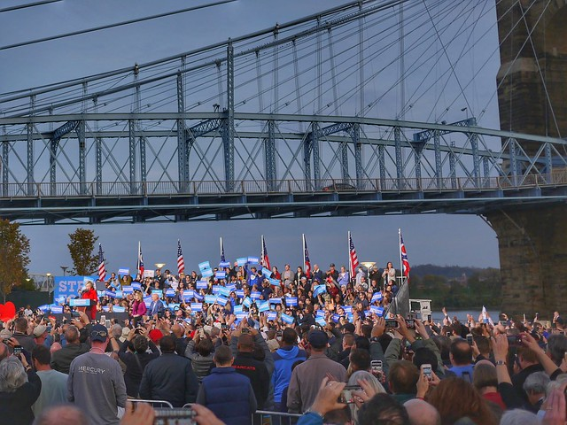Clinton on the riverfront