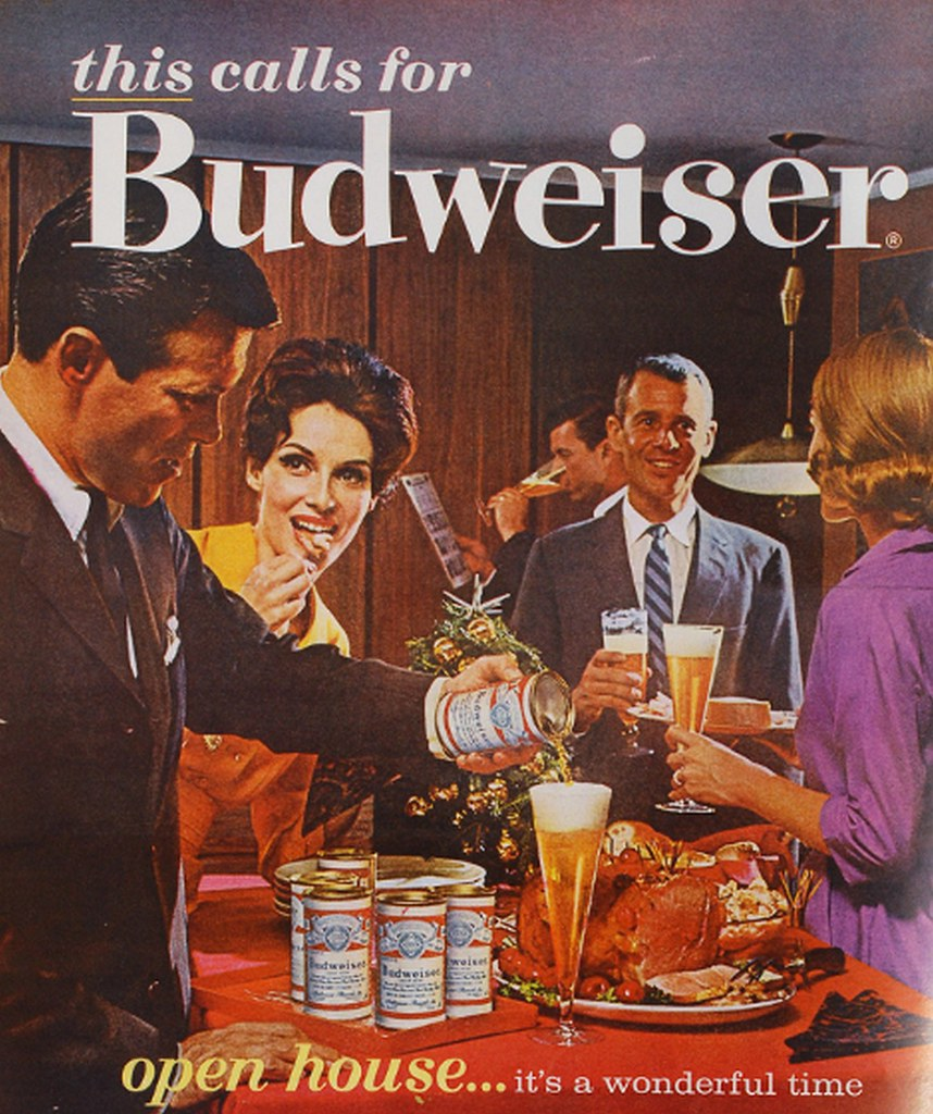 1962-this-calls-for-Budweiser-open-house-...