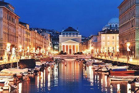 Trieste canale di Ponterosso