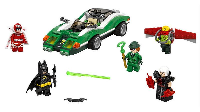 The LEGO Batman Movie - The Riddler Riddle Racer (70903)