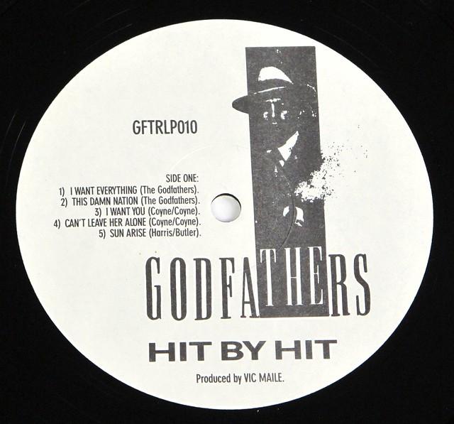 "GODFATHERS HIT BY HIT CORPORATE IMAGE GFTRLP010 12"" LP VINYL"