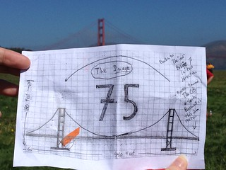 Crissy Field to make a human bridge | by orangegirlnz
