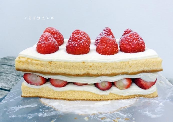5 士林宣原烘焙蛋糕專賣店-雙層草莓蛋糕一開訂即秒殺爆單的超人氣限定美食!