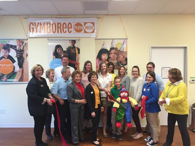 November 3, 2016 - Ribbon Cutting - Gymboree East Bay