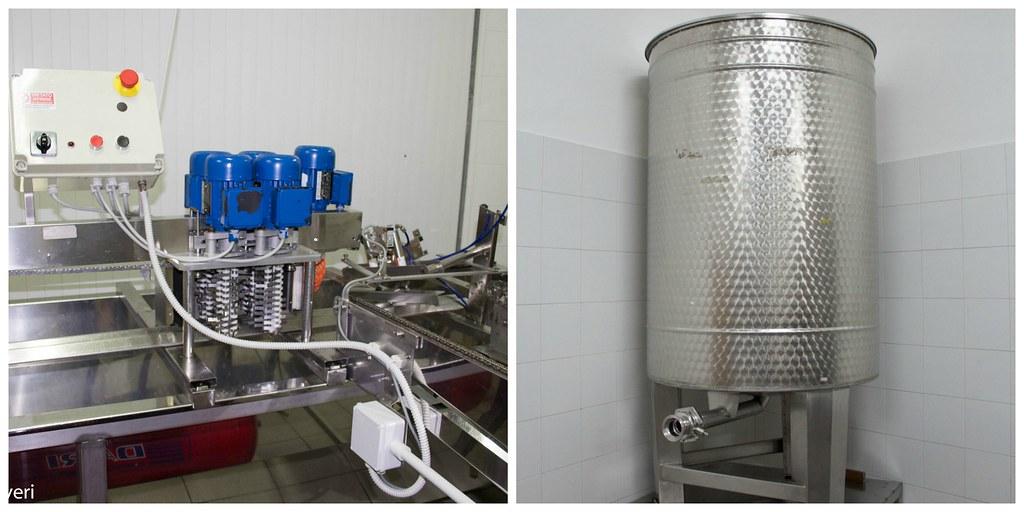 macchinari per la raccolta del miele
