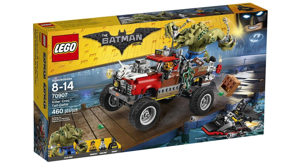 LEGO The Batman Movie 70907 - Killer Croc Tail-Gator