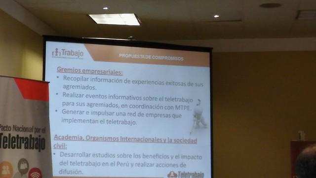 Área de  Recursos Humanos  de la USMP asistió a la  conferencia  realizada por el Ministerio de Trabajo -