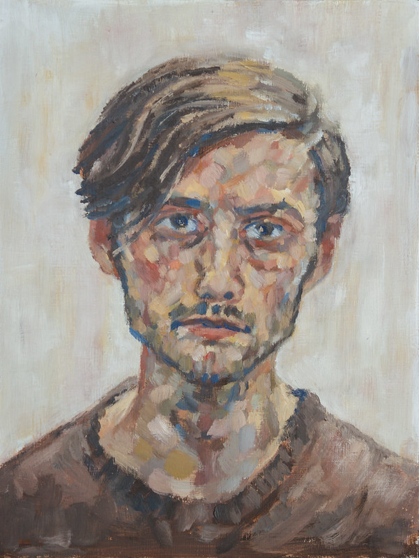 Autoportrait in Oils