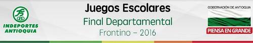 presentacion boletines Frontino 2016
