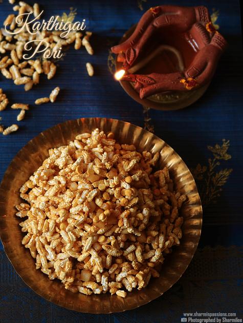 Karthigai Pori Recipe