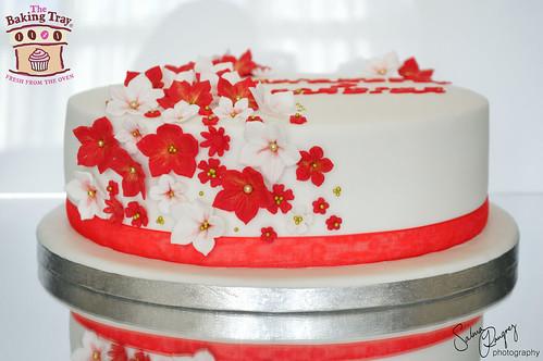 Floral Wedding Cake Topper Ideas
