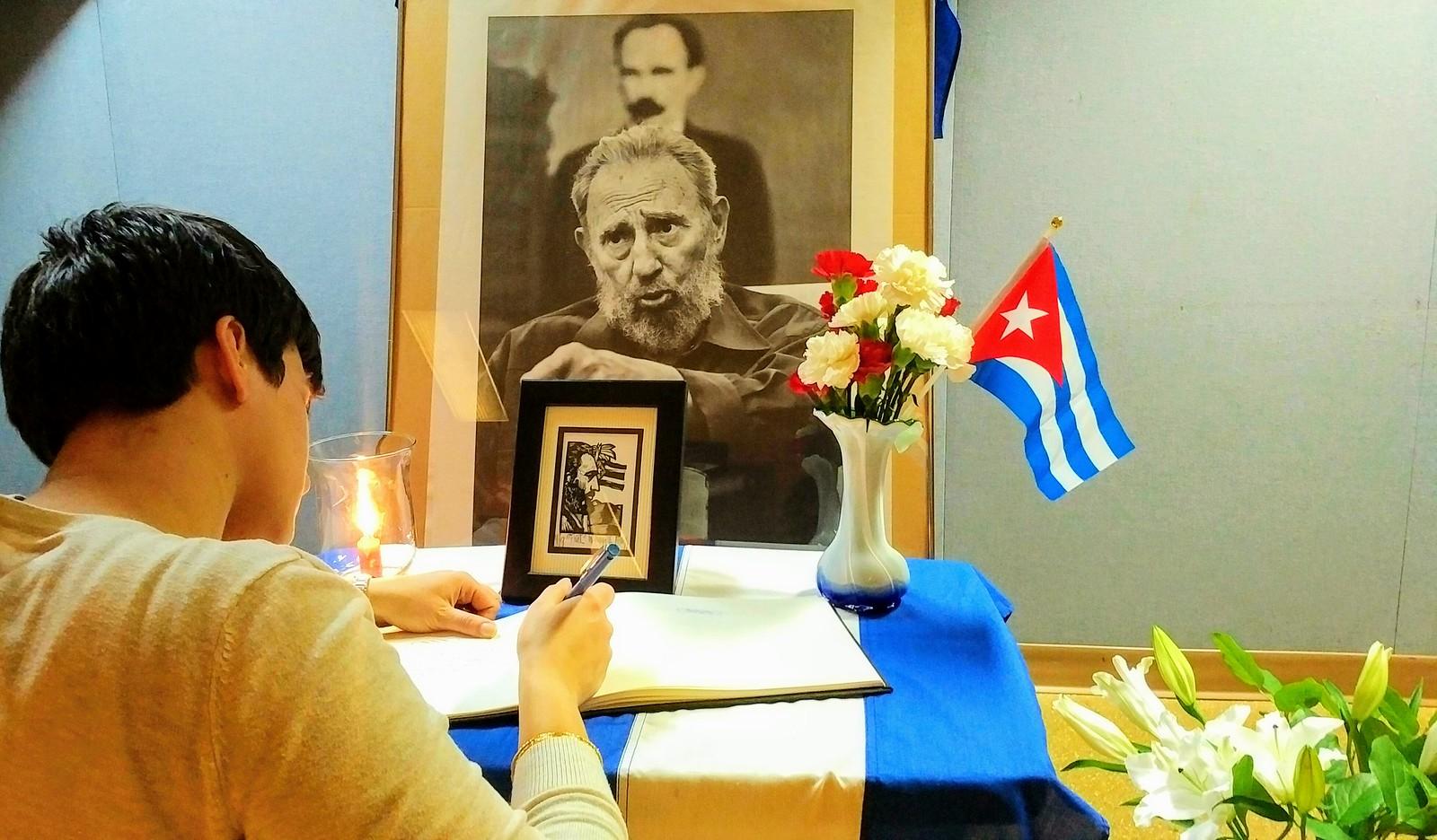 Vancouver Remembers Comandante Fidel Castro