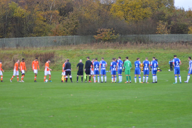 Wigan Athletic v Blackburn U18s