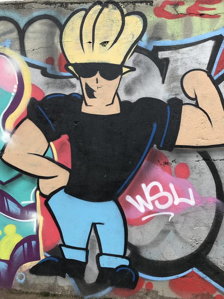 Graffiti Johnny Bravo