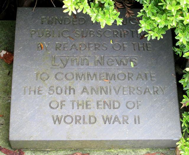 King's Lynn War Memorial 11