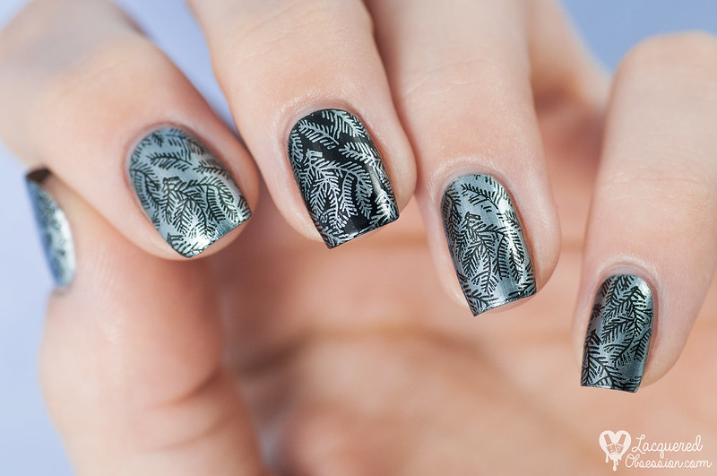 H&M - Silver Fern + stamping