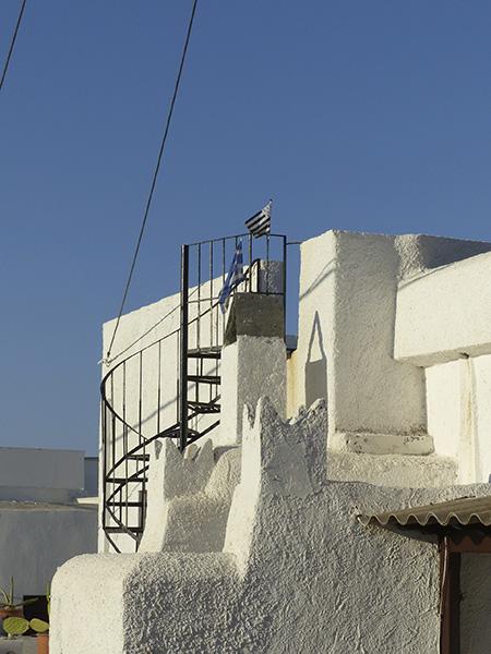escaliers noirs