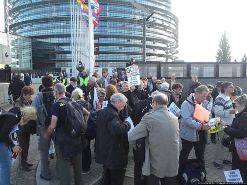 #GPII #Strasbourg #PE 2016-1026 Remise de la sentence du TPP au Parlement Européen 20161026_144311