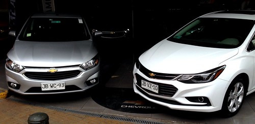 Chevrolet Onix, Cruze Turbo - Santiago, Chile