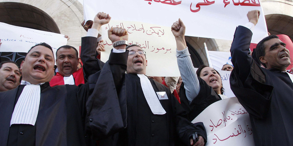 Tunisian Lawyers Enraged Over Budget Proposal