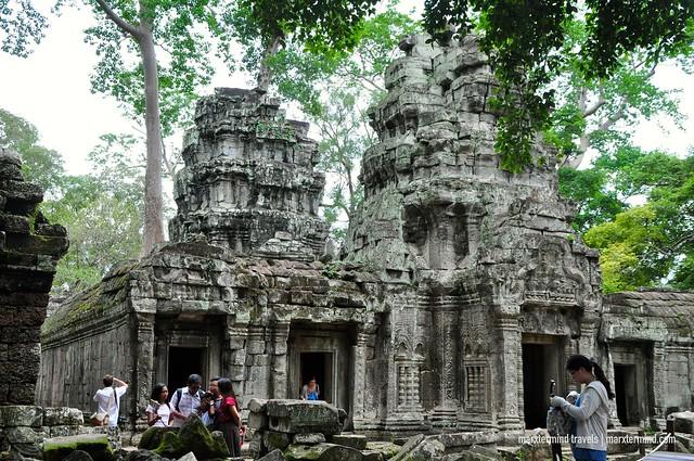 Inside Ta Phrom Temple Siem Reap