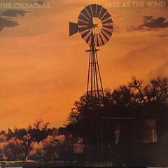 THE CRUSADERS:FREE AS THE WIND(JACKET A)