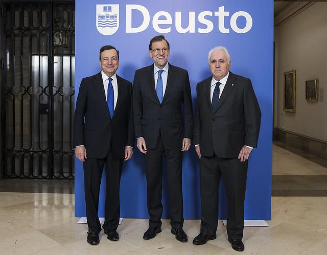 30/11/2016 - Deusto Business School celebra su centenario con una conferencia del presidente del BCE, Mario Draghi, sobre el futuro de Europa