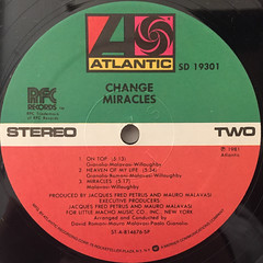 CHANGE:MIRACLES(LABEL SIDE-B)