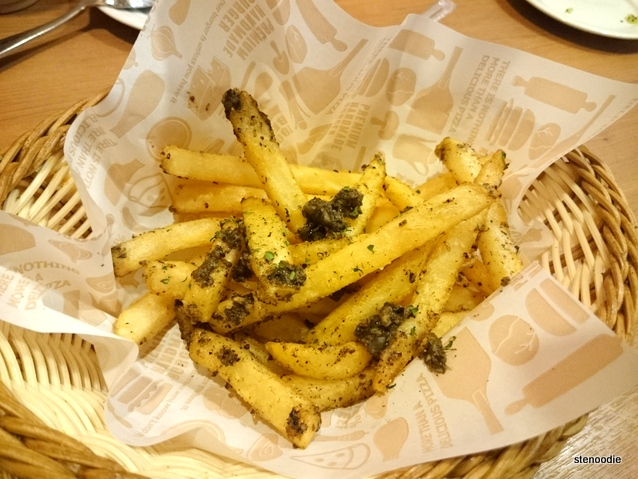 Black Truffle Pate Fries