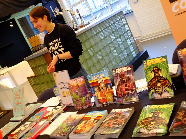 Edinburgh Comic Art Festival 2016 012