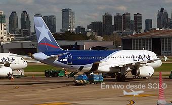 LAN Argentina A320 LV-BTM en remoto (RD)