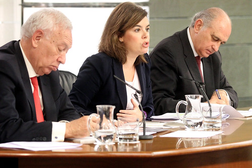 Consejo de ministros aprobado el proyecto de la nueva ley for Ley del ministerio del interior