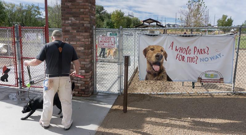 Prescott Dog Park Entrance