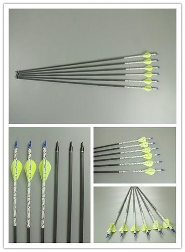 Carbonio Frecce per Arco Compound 40~55 Lb