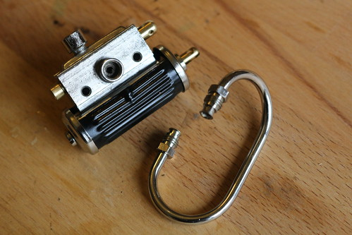 Replacing the Wilesco steam valve