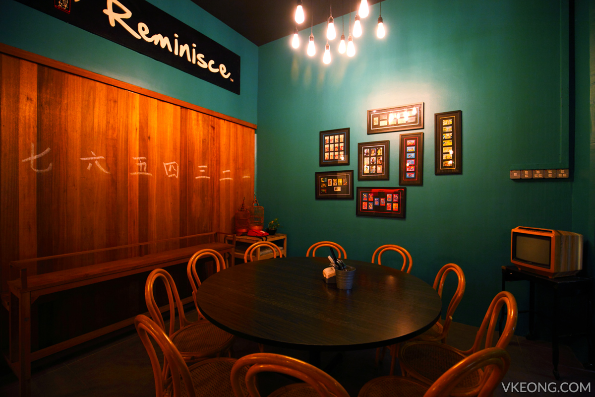 Reminisce Cafe Family Dining Table