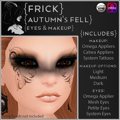 Autumn's Fell Makeup & Eyes