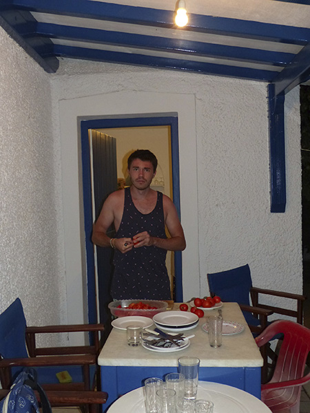 clem et les tomates