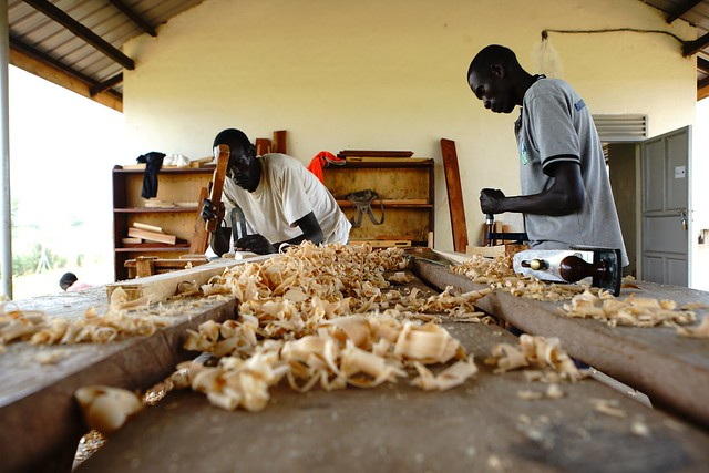 Carpentry Course - Nyumanzi vocational training centre - NRC, EU Humanitarian Aid