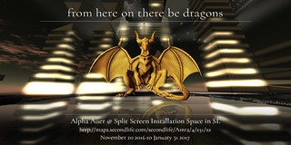 from here there be dragons, Alpha Auer, Split Screen