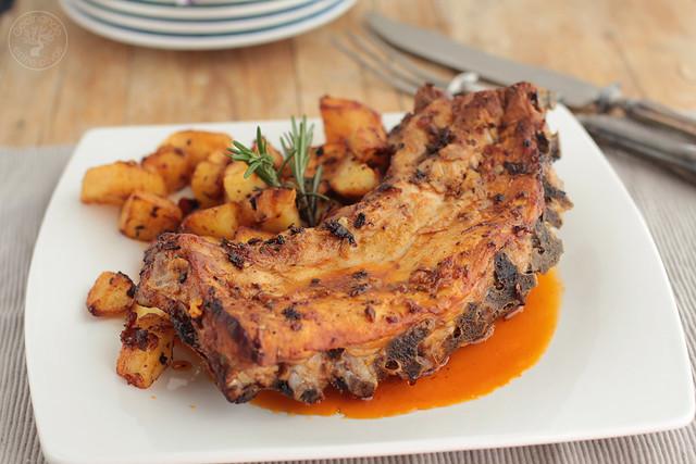Costillas al horno www.cocinandoentreolivos.com (2)