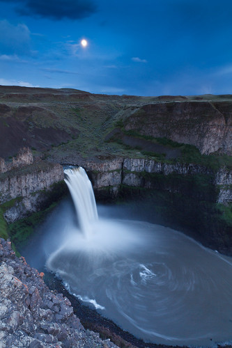 Palouse Falls Moon | by Cameron Booth