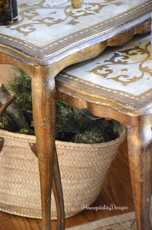 Florentine Nesting Tables - Housepitality Designs