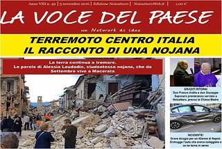 Noicattaro. Prima pagina n. 42-2016 front