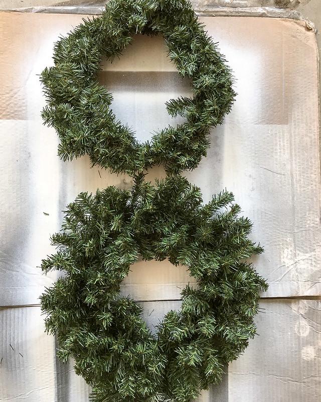 DIY Flocked Wreath Tutorial | www.graceinmyspace.com