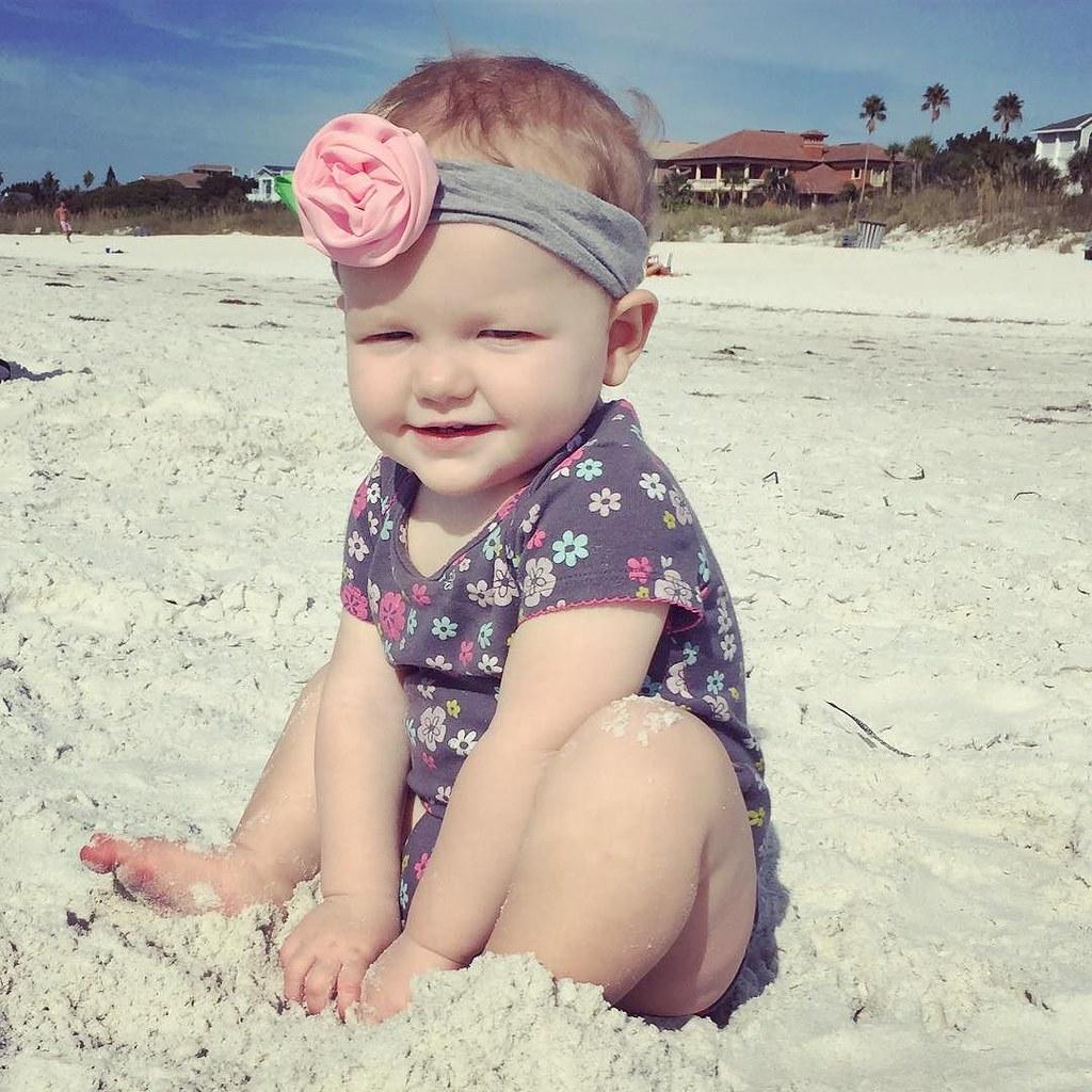 Beach babe.