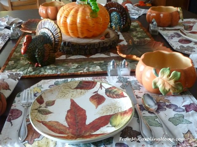 November Breakfast Table at From My Carolina Home