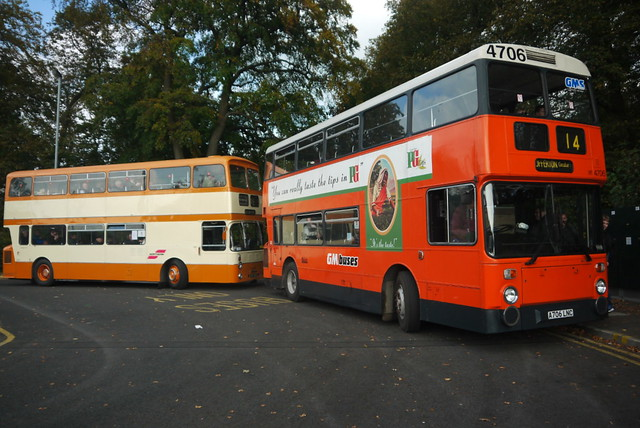 Two Leyland Atlanteans, The Woodthorpe