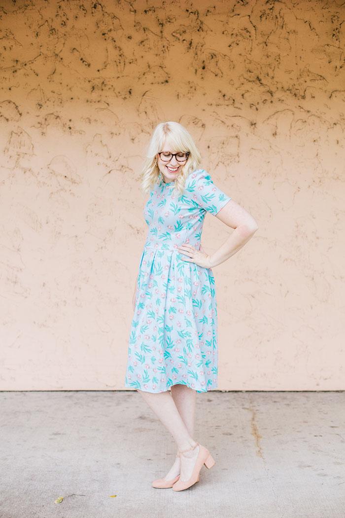 writes like a girl lularoe amelia ladybug dress1