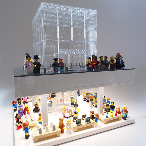 Lego Apple Store - Fifth Avenue Cube | by Mr.Attacki
